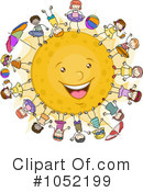 Royalty-Free (RF) Summer Clipart Illustration #1052199