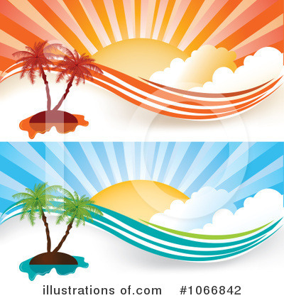 Royalty-Free (RF) Summer Clipart Illustration by MilsiArt - Stock Sample #1066842