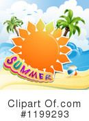 Royalty-Free (RF) Summer Clipart Illustration #1199293