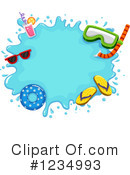 Royalty-Free (RF) Summer Clipart Illustration #1234993
