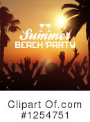 Summer Clipart #1254751 by KJ Pargeter