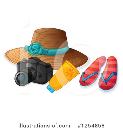 Sandals Clipart #1254858 by Graphics RF