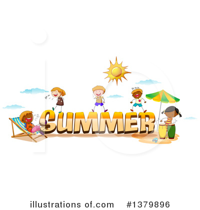 Beach Clipart #1379896 by Graphics RF