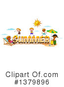 Royalty-Free (RF) Summer Clipart Illustration #1379896