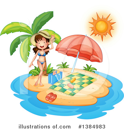 Swimsuit Clipart #1384983 by Graphics RF