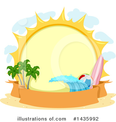 Surfing Clipart #1435992 by BNP Design Studio
