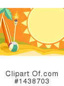 Royalty-Free (RF) Summer Clipart Illustration #1438703