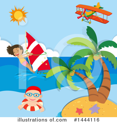 Royalty-Free (RF) Summer Clipart Illustration by Graphics RF - Stock Sample #1444116