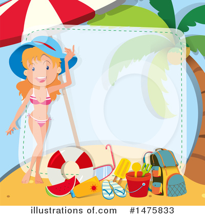 Swimsuit Clipart #1475833 by Graphics RF