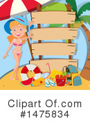 Royalty-Free (RF) Summer Clipart Illustration #1475834