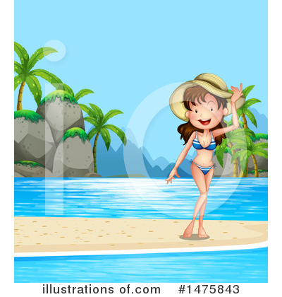 Royalty-Free (RF) Summer Clipart Illustration by Graphics RF - Stock Sample #1475843