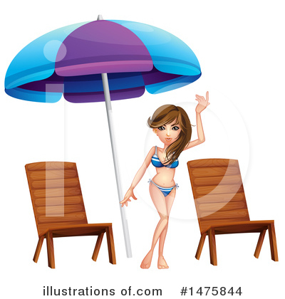 Swimsuit Clipart #1475844 by Graphics RF