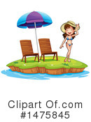 Royalty-Free (RF) Summer Clipart Illustration #1475845