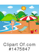 Royalty-Free (RF) Summer Clipart Illustration #1475847
