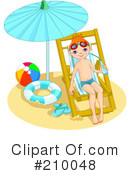 Summer Clipart #210048 by Pushkin