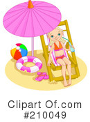 Summer Clipart #210049 by Pushkin