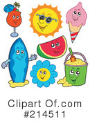 Summer Clipart #214511 by visekart