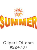 Royalty-Free (RF) Summer Clipart Illustration #224787
