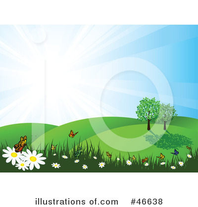 Flowers Clipart #46638 by KJ Pargeter