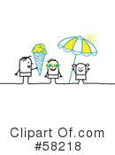 Royalty-Free (RF) summer Clipart Illustration #58218