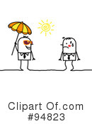 Royalty-Free (RF) Summer Clipart Illustration #94823