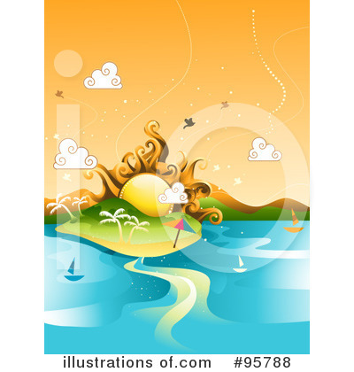 Landscape Clipart #95788 by BNP Design Studio