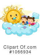 Royalty-Free (RF) Summer Time Clipart Illustration #1066934