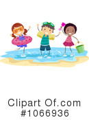 Royalty-Free (RF) summer time Clipart Illustration #1066936