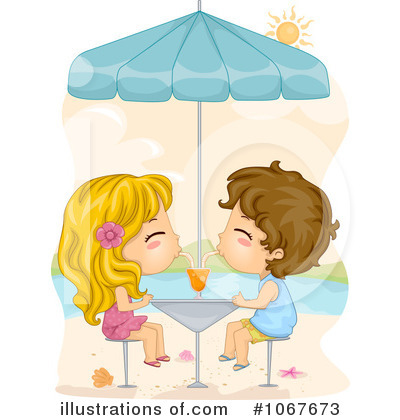 Royalty-Free (RF) Summer Time Clipart Illustration by BNP Design Studio - Stock Sample #1067673