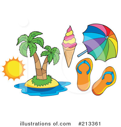 Island Clipart #213361 by visekart