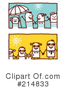 Royalty-Free (RF) summer time Clipart Illustration #214833