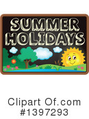 Summer Vacation Clipart #1397293