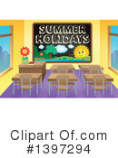 Summer Vacation Clipart #1397294
