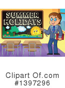 Summer Vacation Clipart #1397296