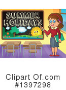 Summer Vacation Clipart #1397298