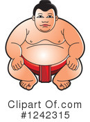 Sumo Wrestling Clipart #1242315 by Lal Perera