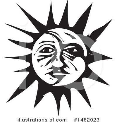 Sun And Moon Clipart #1462023 by xunantunich