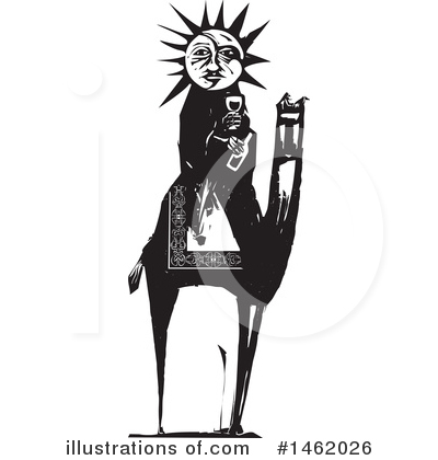 Sun And Moon Clipart #1462026 by xunantunich