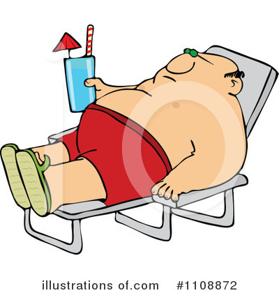 Sun Bathing Clipart #1108872 by djart