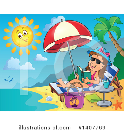 Beach Clipart #1407769 by visekart