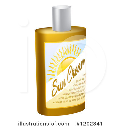 Sunblock Clipart #1202341 by AtStockIllustration