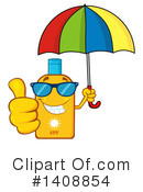 Sun Block Clipart #1408854 by Hit Toon