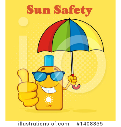 Sunblock Clipart #1408855 by Hit Toon