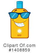 Sun Block Clipart #1408859 by Hit Toon
