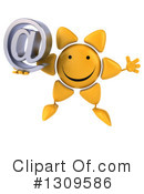 Sun Character Clipart #1309586 by Julos