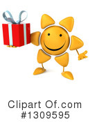 Sun Character Clipart #1309595 by Julos