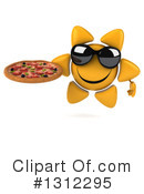 Sun Character Clipart #1312295 by Julos