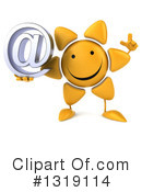 Sun Character Clipart #1319114 by Julos
