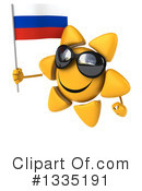 Sun Character Clipart #1335191 by Julos