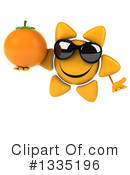 Sun Character Clipart #1335196 by Julos